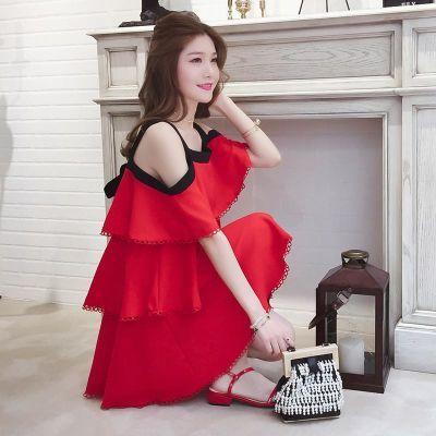 女士套装夏时尚仙女裙连衣裙学生韩版长款棉麻套装时尚裙女裙夏季