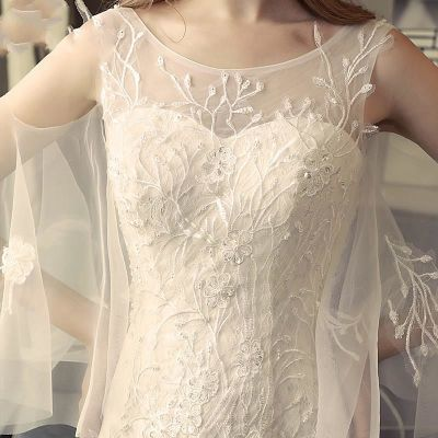 婚纱礼服201新款鱼尾新娘结婚长拖尾公主梦幻收腰显瘦轻婚纱