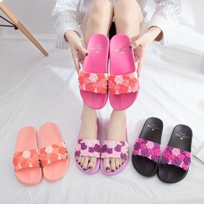 拖鞋女夏社会鞋盾夏外穿时尚韩版女学生夏籍洞洞厚底凉鞋新款防水