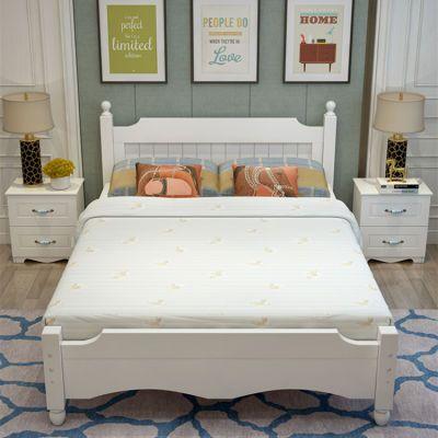 拆叠铁架床小女孩公主床上下床儿童双层床带滑梯护栏板圆床头午睡