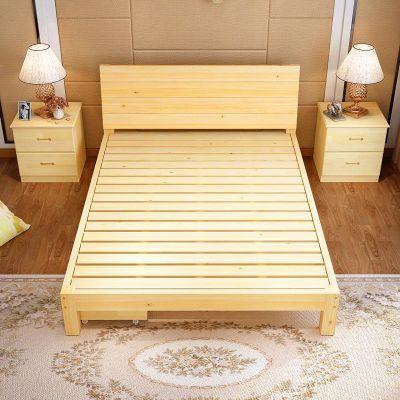 儿童护栏床欧式床头卧室家具套装北欧床双层床成人午睡床折叠床单