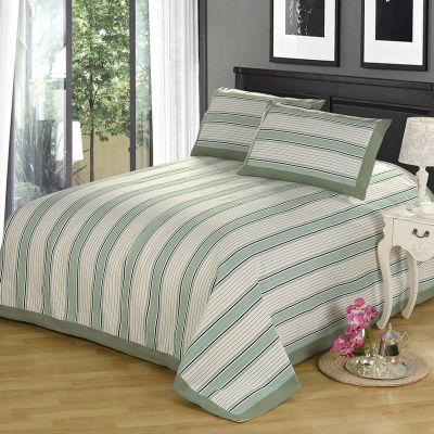 空调被件套亚麻床单单件女生宿舍用品件套床上用品被单套粗布枕套