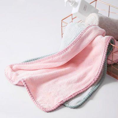 35*75cm毛巾干发巾柔软强吸水擦头发速干成人家用洗脸洗澡毛巾女