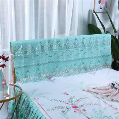 亚麻床单单件粗布床头罩欧式弧形夏季床裙笠翁对韵床靠背床罩件套