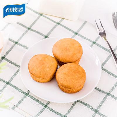 光明烘焙蛋黄奶油味注心蛋黄派 办公室休闲零食早餐 1KG