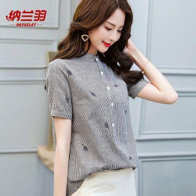 日系女装新款夏季短袖女学生韩版宽松雪纺上衣夏娃娃衫上衣恤女夏