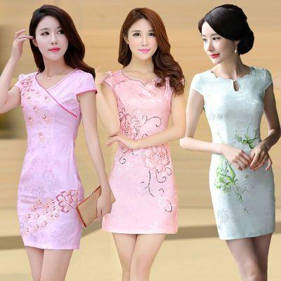 年新款裙子女夏韩版连衣裙夏装时尚修身显瘦中长款裙女吊带裙夏长