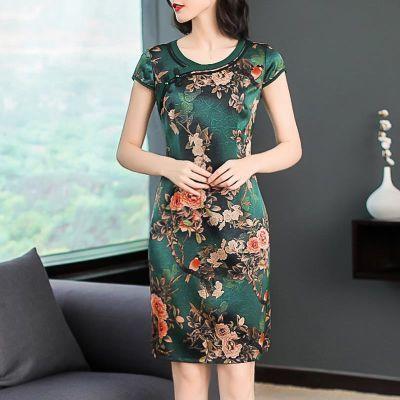 紫色短袖女学生韩版女裙子夏宽松小心机套装女时尚女品牌女装哺乳