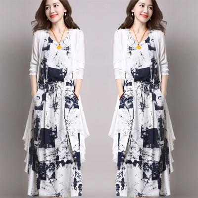 女上衣夏雪纺矮个子连衣裙修身连衣裙女原宿风短袖女宽松中长款衫