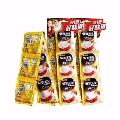 雀巢咖啡1+2原味 奶香即溶咖啡饮品挂串装