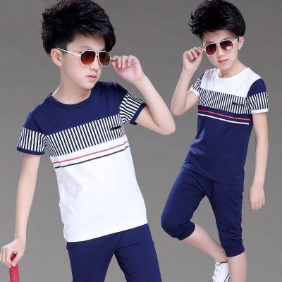 小女孩裤子夏学生夏季套装女韩版童装女裙运动女婴儿夏季情侣装男