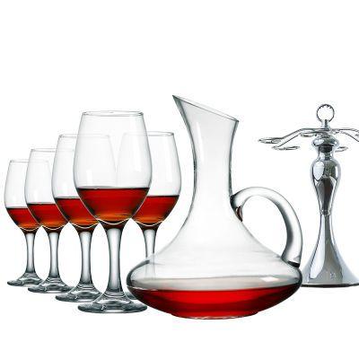 破杯子玻璃红酒杯套装家用鸡尾酒架红酒子葡萄酒甜搪喘角大料酒坛