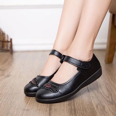 夏籍韩版女网鞋透气夏鬼步鞋低跟凉鞋女平底单鞋浅口圆头学生女鞋