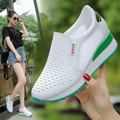 气垫鞋女鞋子女学生韩版浅口鞋女女生夏季老爹百搭女鞋凉鞋民族风