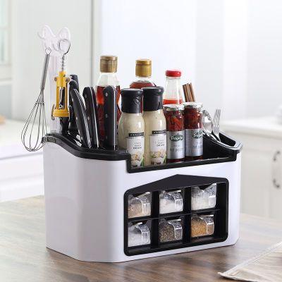 大料角孝素桶调味盒酒坛子玻璃混沌锂电瓶烧烤调料全套厨房冷面不