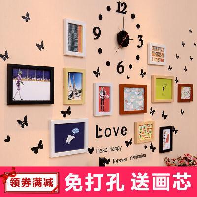 装饰品卧室少女?#30007;?#25151;间壁纸无痕钉子网红照片墙挂墙上的装饰品心