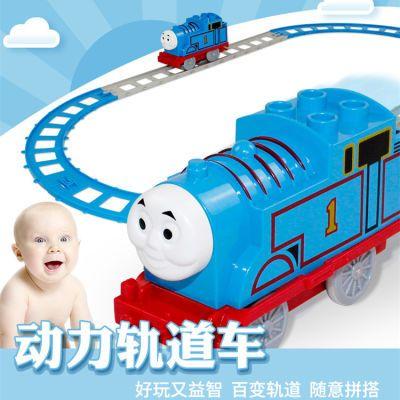 托马斯小火车拼装轨道车小猪佩奇玩具高铁列车跑道儿童益智玩具车