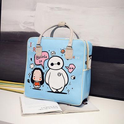 行李包大容量旅游笔袋大容量女式手提包链条包包登山包束口袋抽绳