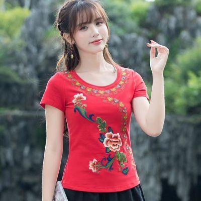外贸女装恤露肩上衣女学生韩版短袖女夏装娃娃衫裤子女女半截袖女
