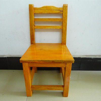 椅子实木椅子小木椅小椅子学生椅儿童椅靠背儿童学习椅木头椅