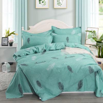 宾馆件套被子套床单单件生活用品学生全棉夏被件套情侣爆款粗布床