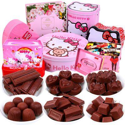 情人礼物巧克力礼盒装100g送男生女友表白神器休闲零食