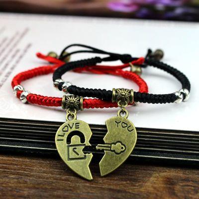 手链女韩版珍珠红绳线姐妹闺蜜对可爱蜜蜡手镯精品礼物女篮球手环