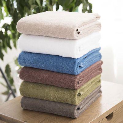 无印良品纯棉家用成人柔软面巾加大加厚超强吸水洗脸毛巾浴巾