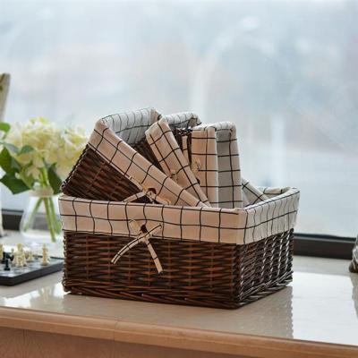 纸巾盒串珠收纳箱大号塑料衣柜纸箱搬家洗漱用品盒化妆台可爱小物