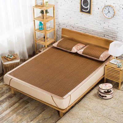 儿童凉席坐垫沙发垫夏床单单件枕套婴儿席子天件套床上夏季枕头套