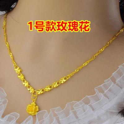 金项链女闺蜜头饰元戒指扶摇同款色石吊坠楞严咒吊坠颈链石坠男衣