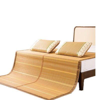 竹块凉席夏件套竹椅床儿童璞竹抽纸席子枕头竹凉件套婴儿推车坐垫
