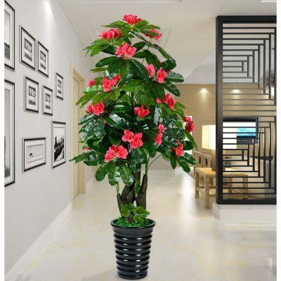 假花树招财花树仿真植物落地套装大型客厅盆景塑料花装饰盆栽摆设