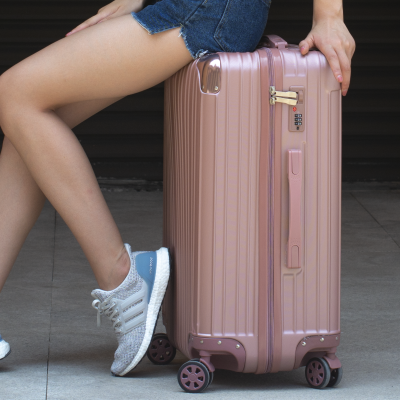 学生行李箱女24寸拉杆箱万向轮韩版旅行箱包22皮箱男20密码箱潮26