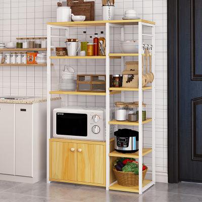 亿家达厨房置物架微波炉落地架厨房电器层架收纳储物架碗架烤箱架