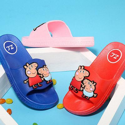 夏季儿童拖鞋男女童鞋防滑软底凉拖鞋浴室家居柔软沙滩鞋卡通托鞋