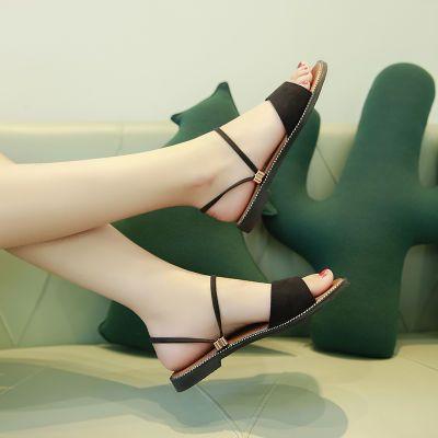 甜美软底防滑女休闲时尚凉鞋女韩版鞋透气季新款女夏季百搭室外夏