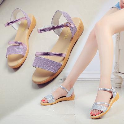 新款软底女休闲时尚学生女士凉拖鞋凉鞋凉鞋女百搭季新款夏学生鞋