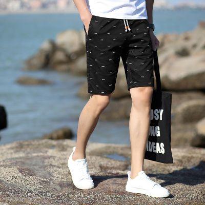 95%棉短裤男夏天五分裤学生休闲运动沙滩大裤衩马裤男士裤子K513