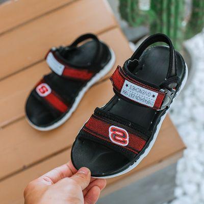 男童凉鞋夏季2018新款2-12岁儿童宝宝鞋中大童男孩沙滩鞋韩版童鞋