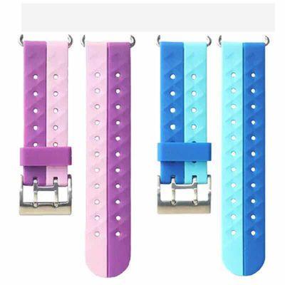 买一发二适用小天才电话手表表带皮质硅胶Y01/Y02/Y03/Z3配件吊坠