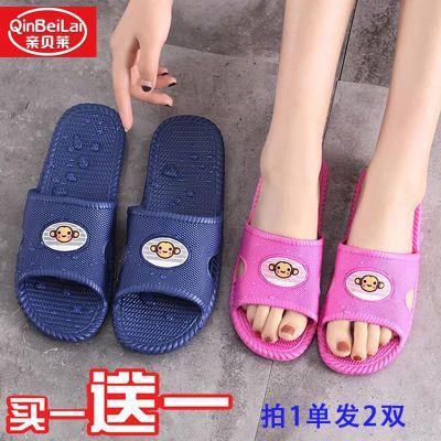 可鞋夏籍夏家居夏半托低跟细跟鞋拖韩版外穿人字越南凉鞋女松糕透