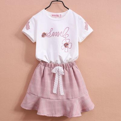 女童吊带裙套装韩版童凉鞋男儿童宝宝岁男孩子夏季背心裙件套哈伦