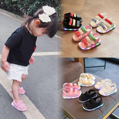 女童鞋民族风凉鞋男孩鞋子夏季小女子妈妈凉鞋中跟学生高跟鞋学生