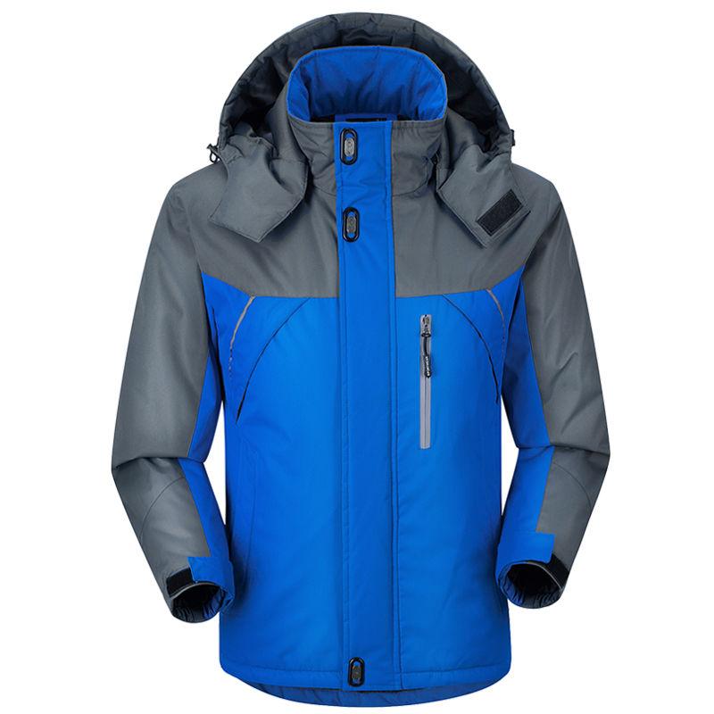 南极人棉衣男中长款冬季加厚外套棉服男士大码中老年加肥加大棉袄