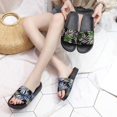 时尚情侣拖鞋女夏季浴室洗澡拖鞋防滑厚底沙滩鞋室外凉拖鞋女