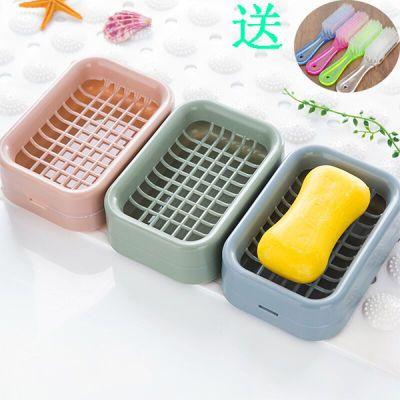 创意香皂盒肥皂盒卫生间沥水肥皂架壁挂式肥皂盒马桶置物架