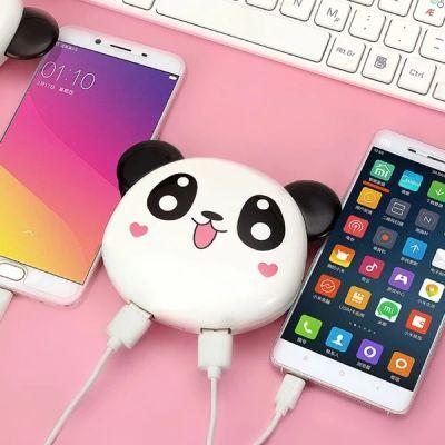真实6000mah充电宝可爱便携充电宝布朗熊卡通移动电源手机通用