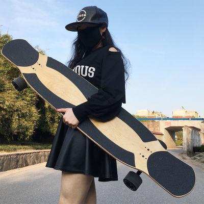 卡律BALMER斑马专业双翘长板滑板男女生抖音滑板舞板初学技巧刷街