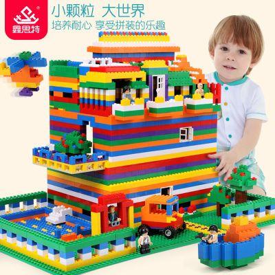 兼容乐高积木拼装别墅城堡益智儿童男孩女孩拼插组装玩具3-6-12岁